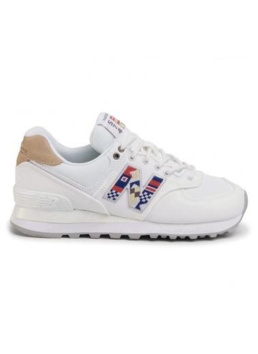 New Balance Kadın  Sneakers WL574SODx Beyaz
